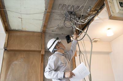 鉄筋コンクリート建物の電気工事をする際の注意点